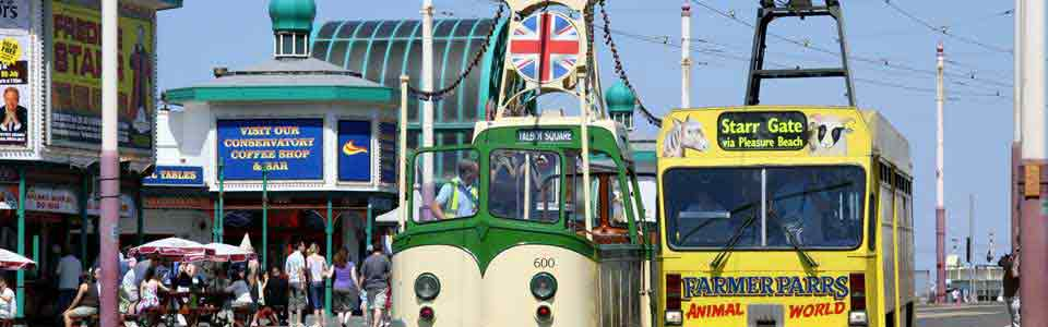 Getting around Blackpool on Public Transport